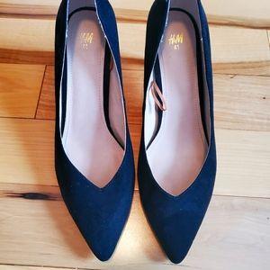 H&M black heel